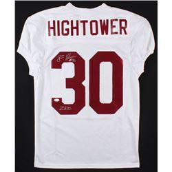 "Dont'a Hightower Signed Alabama Crimson Tide Jersey Inscribed ""Zeus"" (JSA COA)"