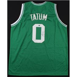 Jayson Tatum Signed Celtics Jersey (JSA COA  Sure Shot Promotions)