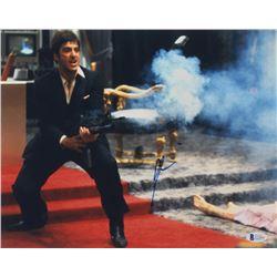 "Al Pacino Signed ""Scarface"" 11x14 Photo (Beckett COA)"