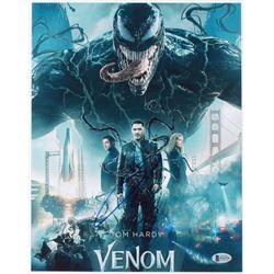 """Tom Hardy Signed """"Venom"""" 11x14 Photo (Beckett COA)"""
