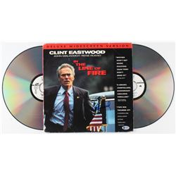 """Clint Eastwood Signed """"In the Line of Fire"""" Laserdisc (Beckett LOA)"""