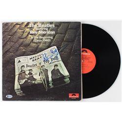 "Pete Best Signed ""In the Beginning"" Vinyl Record Album (Beckett COA)"