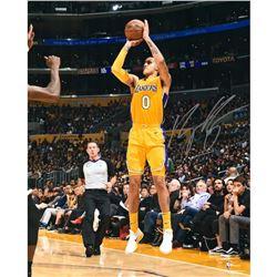 """Kyle Kuzma Signed Lakers """"Shooting"""" 16x20 Photo (Fanatics Hologram)"""