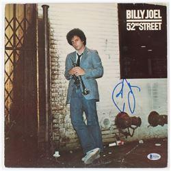 "Billy Joel Signed ""52nd Street"" Vinyl Record Album Cover (Beckett COA)"