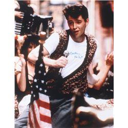 "Matthew Broderick  ""Ferris Bueller's Day Off"" 16x20 Photo (Schwartz COA)"