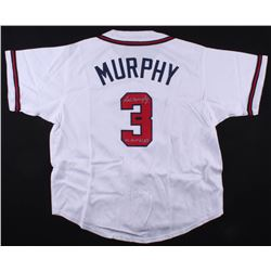 "Dale Murphy Signed Braves Jersey Inscribed ""NL MVP 82,83"" (Radtke COA)"