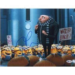 "Steve Carrell Signed ""Despicable Me"" 11x14 Photo (Beckett COA)"