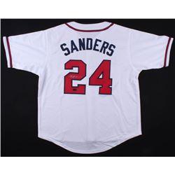 Deion Sanders Signed Braves Jersey (Radtke COA)