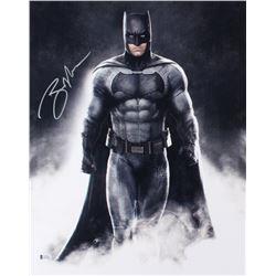 """Ben Affleck Signed """"Batman v Superman: Dawn of Justice"""" 16x20 Photo (Schwartz Sports COA)"""