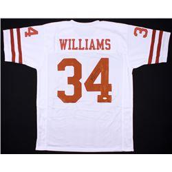 Ricky Williams Signed Texas Longhorns Jersey (JSA COA)