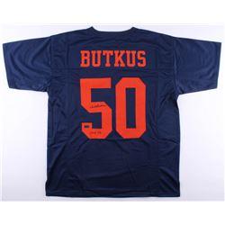 "Dick Butkus Signed Bears Jersey Inscribed ""CHOF 83"" (Radtke COA)"