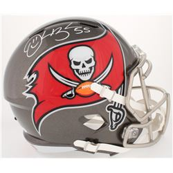 Derrick Brooks Signed Buccaneers Full-Size Speed Helmet (JSA COA)