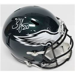 Brian Dawkins Signed Eagles Full-Size Speed Helmet (Beckett COA)