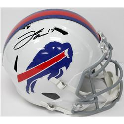 Josh Allen Signed Bills Full-Size Authentic On-Field Speed Helmet (JSA COA)