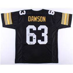 "Dermontti Dawson Signed Steelers Jersey Inscribed ""HOF 12"" (Radtke COA)"
