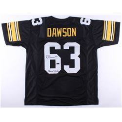 "Dermontii Dawson Signed Steelers Jersey Inscribed ""Steeler 4 Life"" (Radtke COA)"