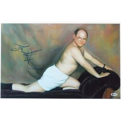 "Jason Alexander Signed ""Seinfeld"" 12x18.5 Photo (Beckett Hologram)"
