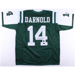 Sam Darnold Signed Jets Jersey (Radtke COA and Darnold Hologram)