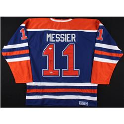Mark Messier Signed Kings Captain Jersey (JSA LOA  SGC COA)