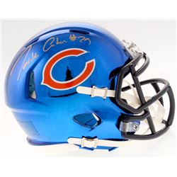 Tarik Cohen Signed Bears Chrome Speed Mini Helmet (Schwartz COA)
