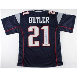 Malcolm Butler Signed Patriots Jersey (Fanatics Hologram  Sure Shot Promotions Hologram)
