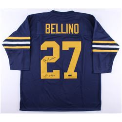 "Joe Bellino Signed Navy Midshipman Jersey Inscribed ""H-1960"" (Radtke COA)"