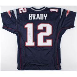 Tom Brady Signed Patriots Jersey (JSA LOA)