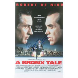 "Chazz Palminteri Signed ""A Bronx Tale"" 12x19 Photo (Beckett Hologram)"