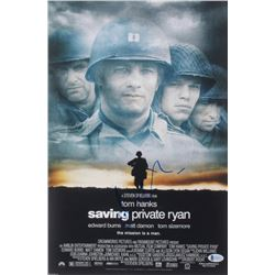 "Matt Damon Signed ""Saving Private Ryan"" 12x18 Photo (Beckett COA)"