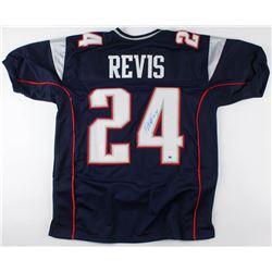 Darrelle Revis Signed Patriots Jersey (JSA COA  Sure Shot Promotions Hologram)
