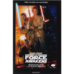 "J.J. Abrams Signed ""Star Wars: The Force Awakens"" 12x18 Photo (JSA COA)"