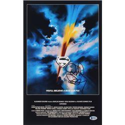 "Richard Donner Signed ""Superman"" 11x17 Photo (Beckett Hologram)"