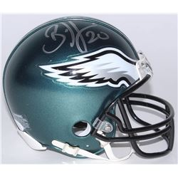 Brian Dawkins Signed Eagles Mini-Helmet (JSA COA)
