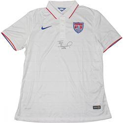 "Tim Howard Signed Team USA Jersey Inscribed ""USA"" (JSA COA)"