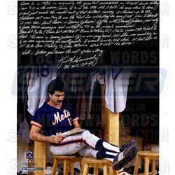 Keith Hernandez Signed Mets '86 Buckner Game 16x20 Photo with Handwritten Story Inscription (Steiner