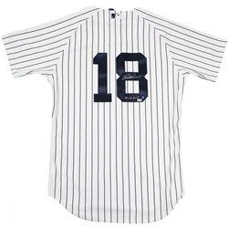 "Scott Brosius Signed Yankees Jersey Inscribed ""98 WS MVP"" (Steiner COA)"