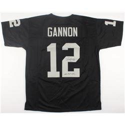 "Rich Gannon Signed Raiders Jersey Inscribed ""NFL MVP 2002"" (Radtke COA)"