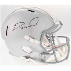 Denzel Ward Signed Ohio State Buckeyes Full-Size Speed Helmet (JSA COA)