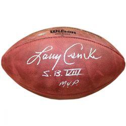 """Larry Csonka Signed """"The Duke"""" NFL Football Inscribed """"S.B. VIII M.V.P."""" (Steiner COA)"""