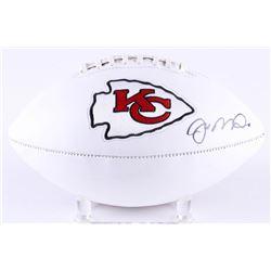 Joe Montana Signed Chiefs Logo Football (Radtke COA)