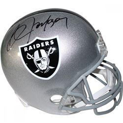 Bo Jackson Signed Raiders Full Size Helmet (Steiner COA)