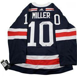 JT Miller Signed Rangers 2018 NHL Winter Classic Jersey (Steiner COA)