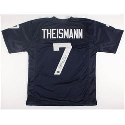 "Joe Theismann Signed Notre Dame Fighting Irish Jersey Inscribed ""CHOF 2003"" (Radtke COA)"