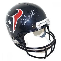 Deshaun Watson Signed Texans Full Size Helmet (Steiner COA)