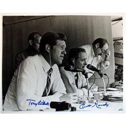 Curt Gowdy  Tony Kubek Signed 8x10 Photo (Steiner COA)