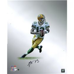 Aaron Rodgers Signed Packers Platinum Collection 16x20 Photo (Steiner COA)