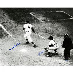 Yogi Berra  Duke Snider Signed 16x20 Photo (Steiner COA)