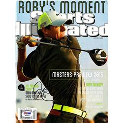 Rory Mcilroy Signed Sports Illustrated Magazine (PSA COA)