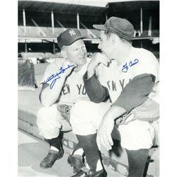 Yogi Berra  Whitey Ford Signed Yankees 16x20 Photo (Steiner COA)