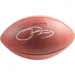 Odell Beckham Jr. Signed Custom Engraved NFL Football (Steiner COA)